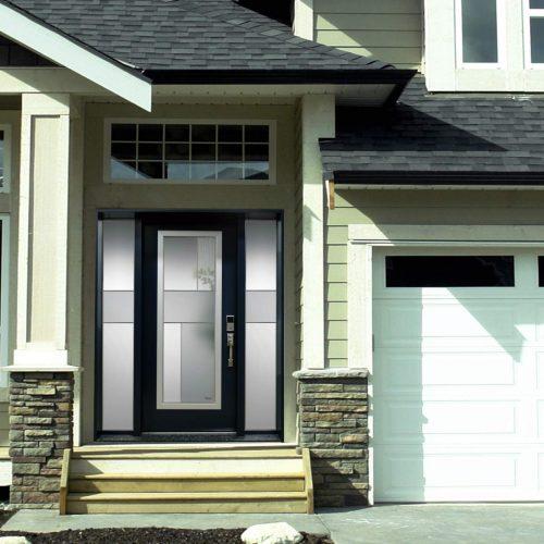 Portes d 39 acier sur mesure portatec fabricant de portes for Vitre porte interieure prix