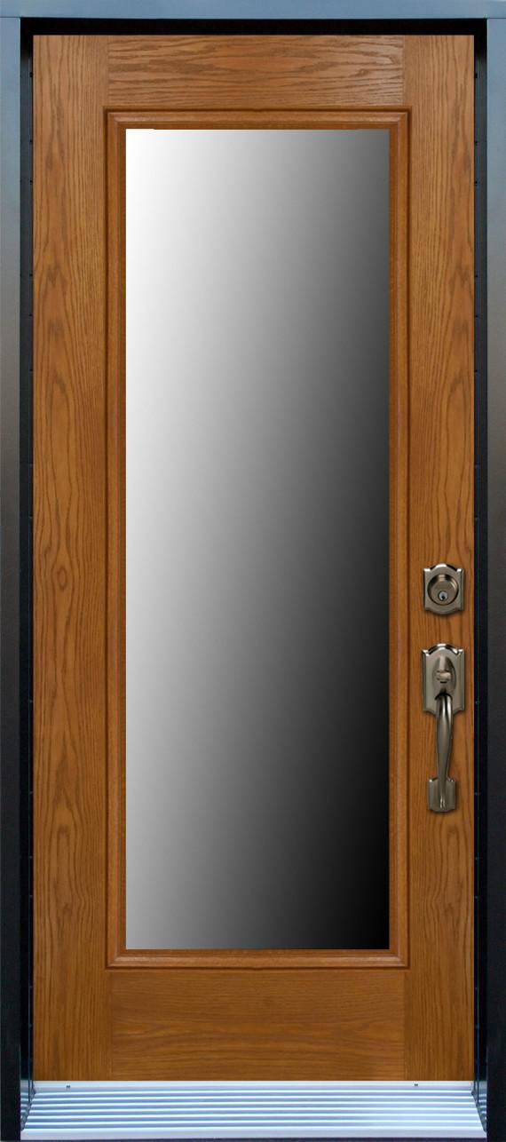 Mod le porte fibre de verre avec unit vitr e pa60 - Fenetre fibre de verre ...