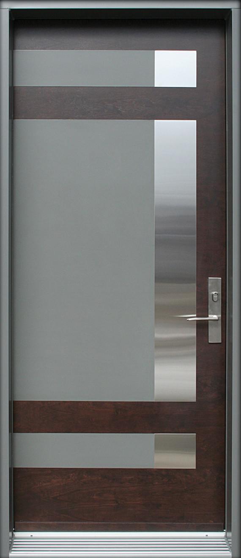 Mod le de porte contemporaine epsilon1 portatec for Porte contemporaine