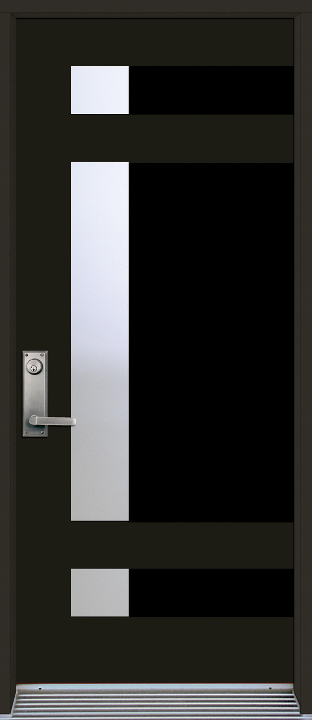 Mod le de porte contemporaine epsilon5 portatec for Modele de porte