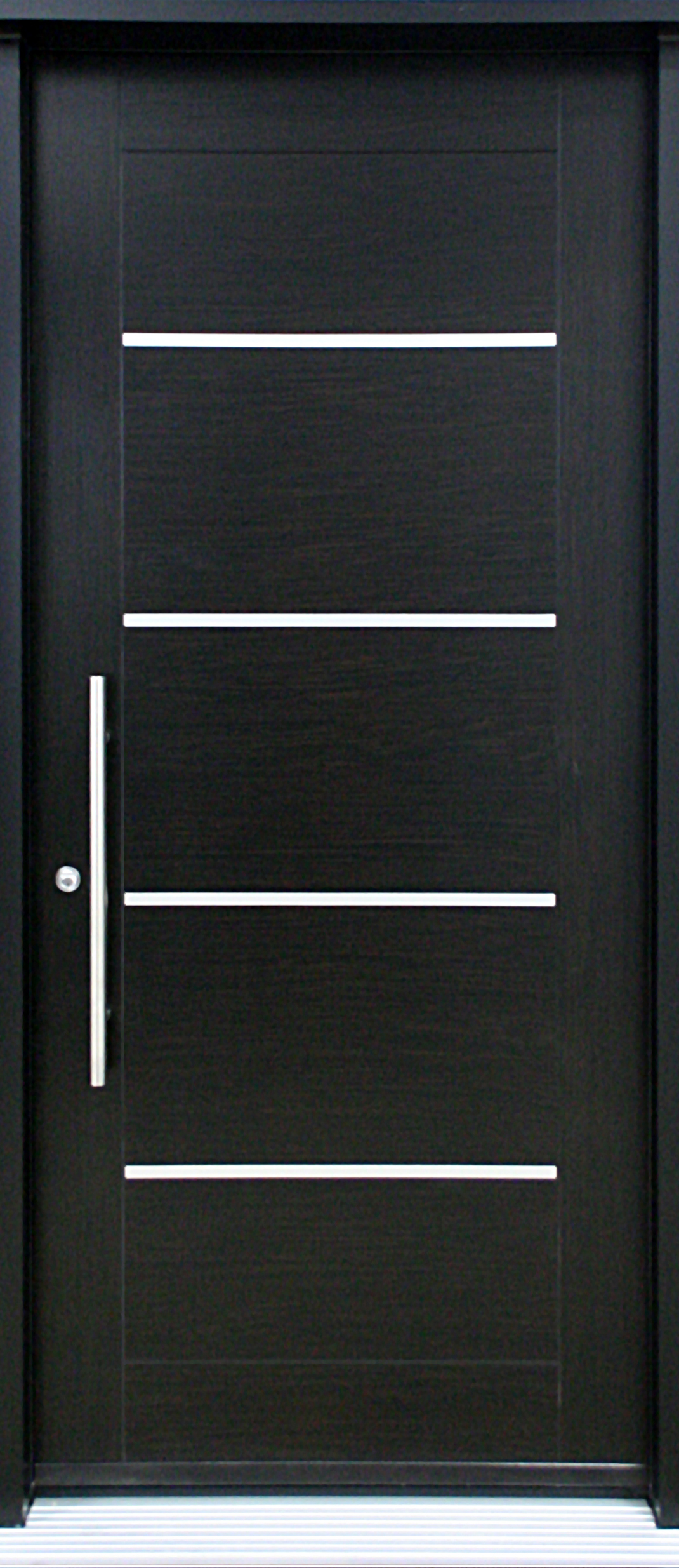 Mod le de porte contemporaine sigma2 portatec for Portes interieures bois contemporaines
