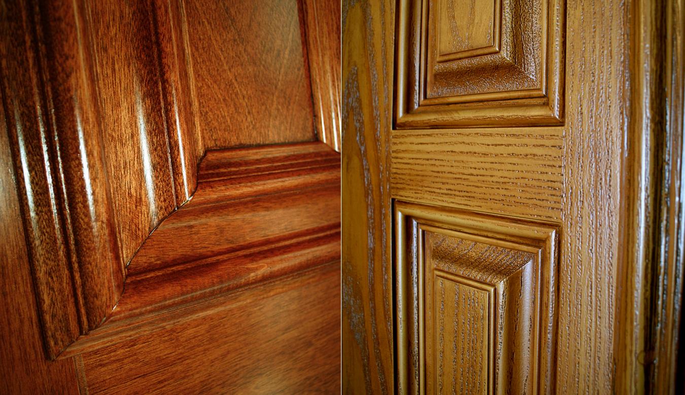 Teinture pour finition de bois et fibre de verre for Decaper une porte vernis