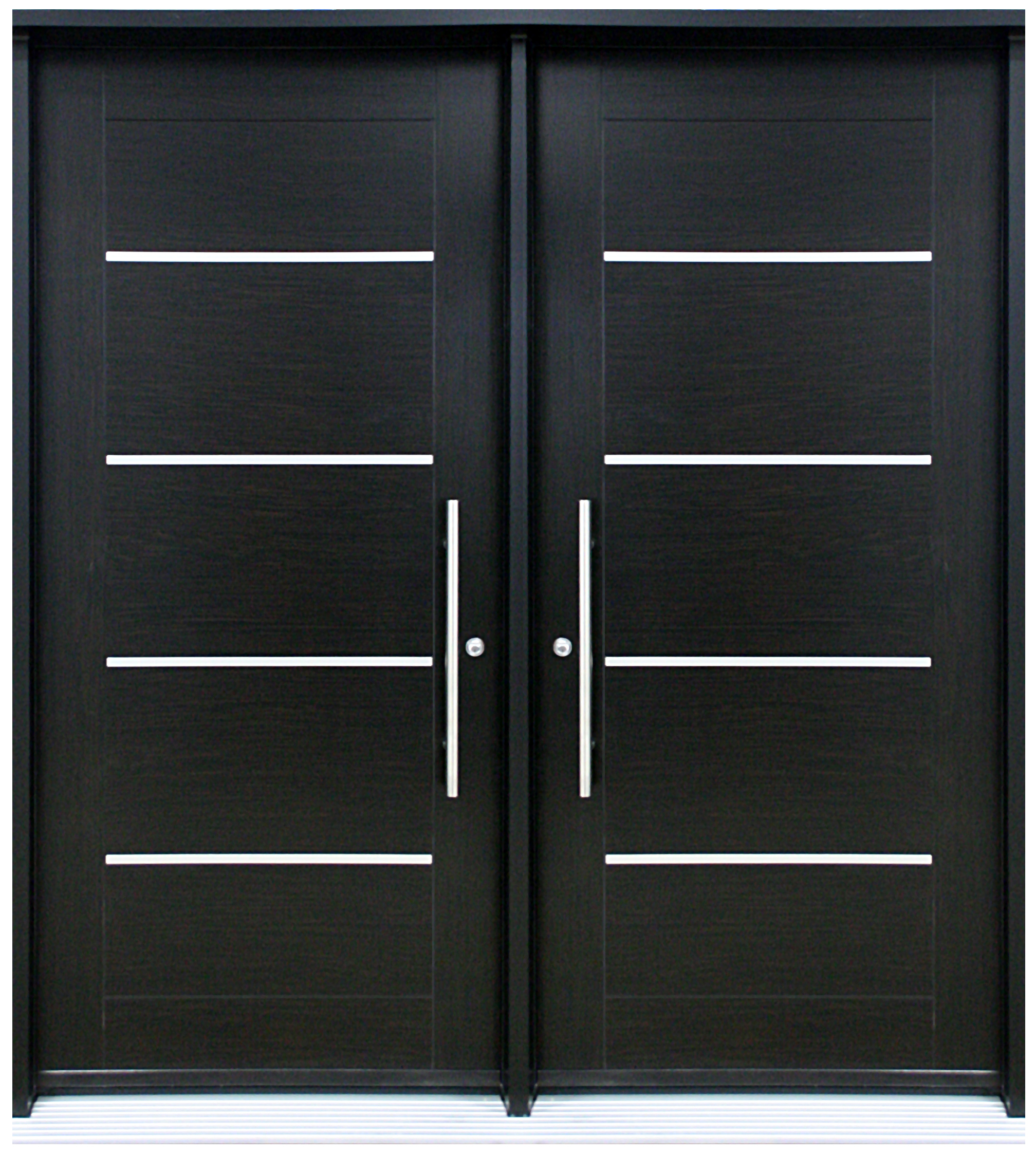 Porte contemporaine sigma 2 porte double portatec for Portes interieures bois contemporaines