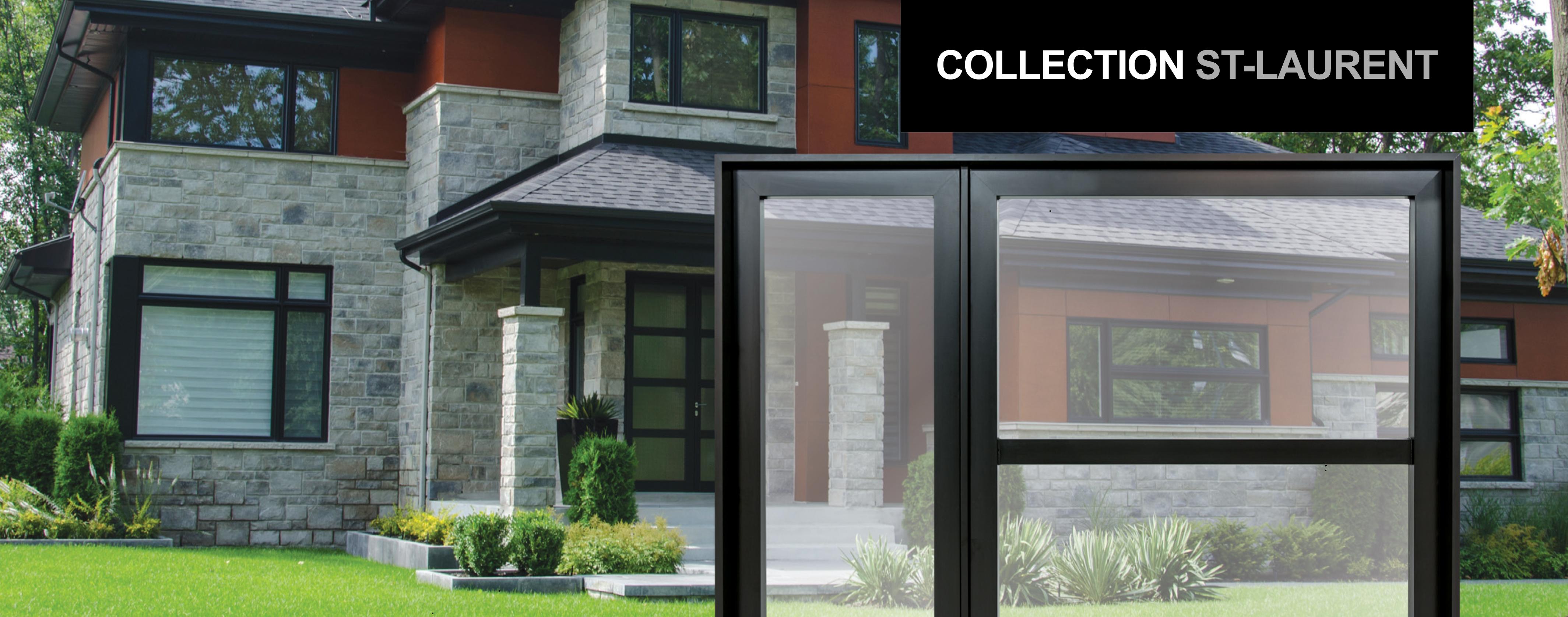 fen tres contemporaines portatec fabricant de porte d. Black Bedroom Furniture Sets. Home Design Ideas