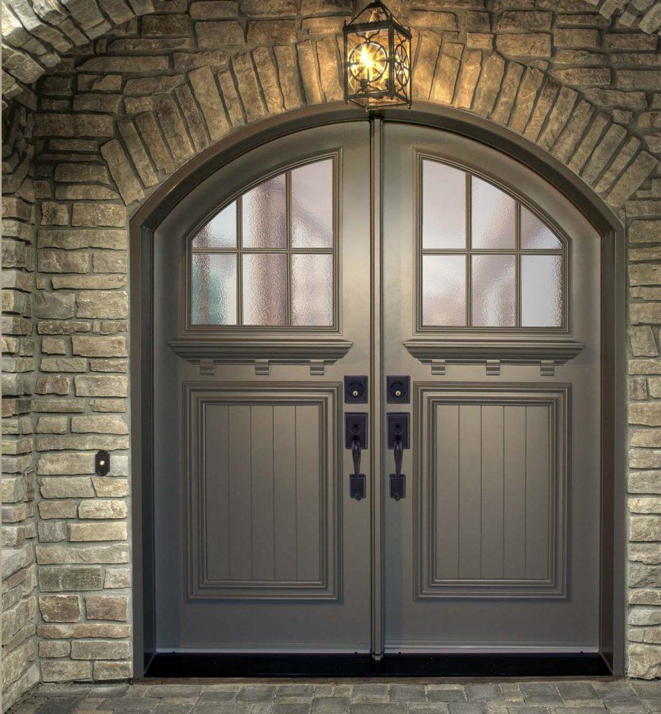 Commercial Grade Exterior Steel Doors : Steel exterior doors lite clear glass