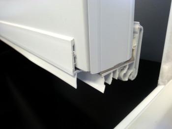 pvc door glass moulding portatec. Black Bedroom Furniture Sets. Home Design Ideas