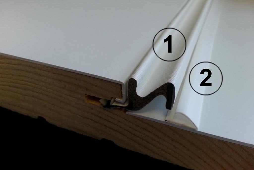 double coupe froid portatec fabricant de portes sur mesure. Black Bedroom Furniture Sets. Home Design Ideas