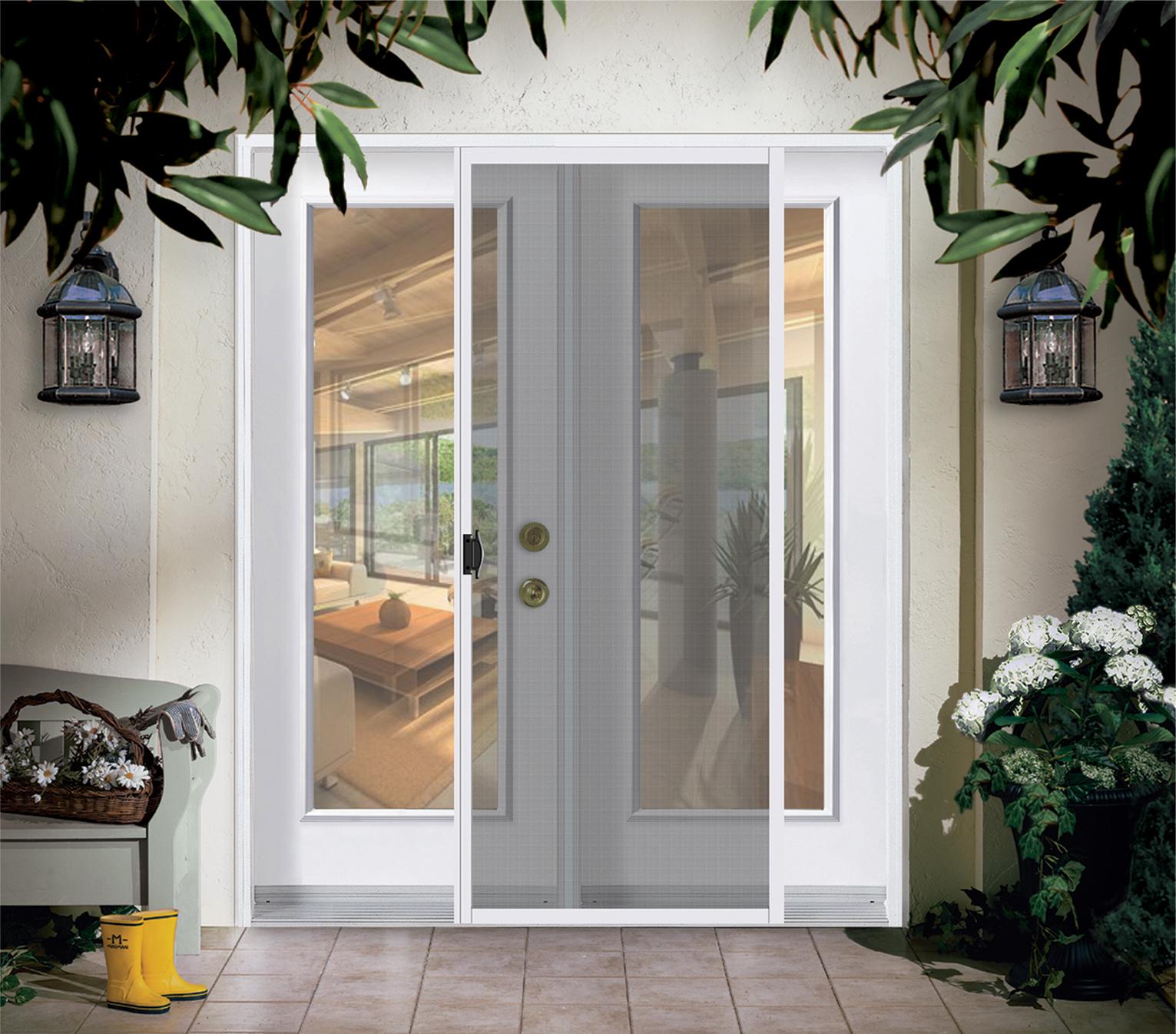 Moustiquaire Coulissant simple ⋆ Portatec - Fabricant de portes sur ...