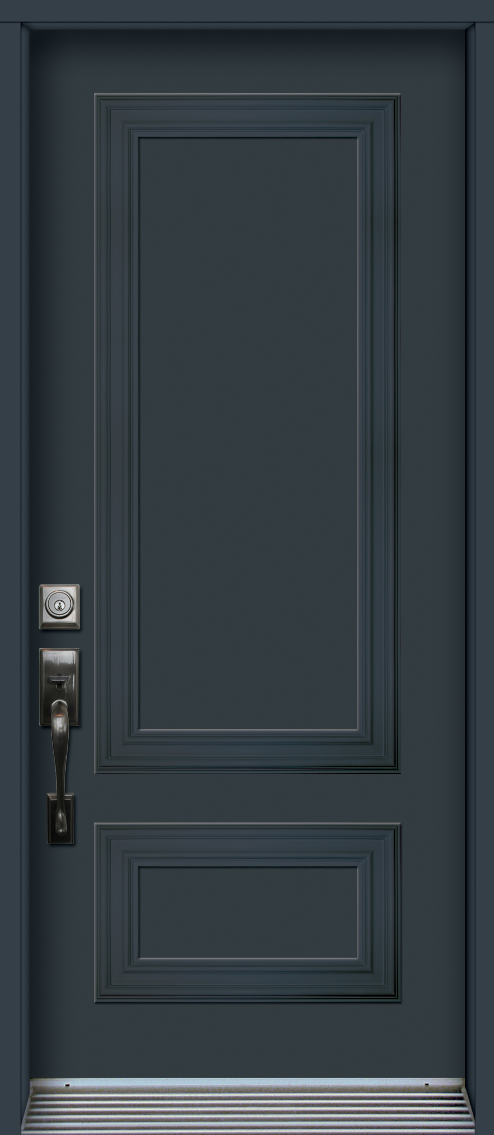 Mod le porte acier avec panneaux noblesse nb4913 for Modele porte