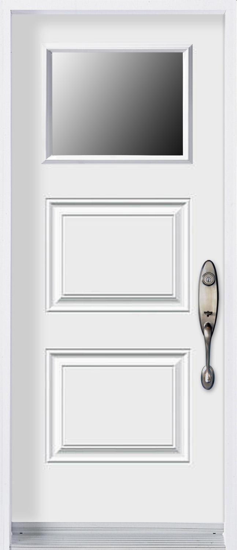 mod le porte acier avec unit vitr e pa3p v portatec fabricant de portes sur mesure. Black Bedroom Furniture Sets. Home Design Ideas