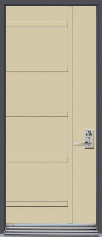 mod le de porte contemporaine omega2 portatec. Black Bedroom Furniture Sets. Home Design Ideas