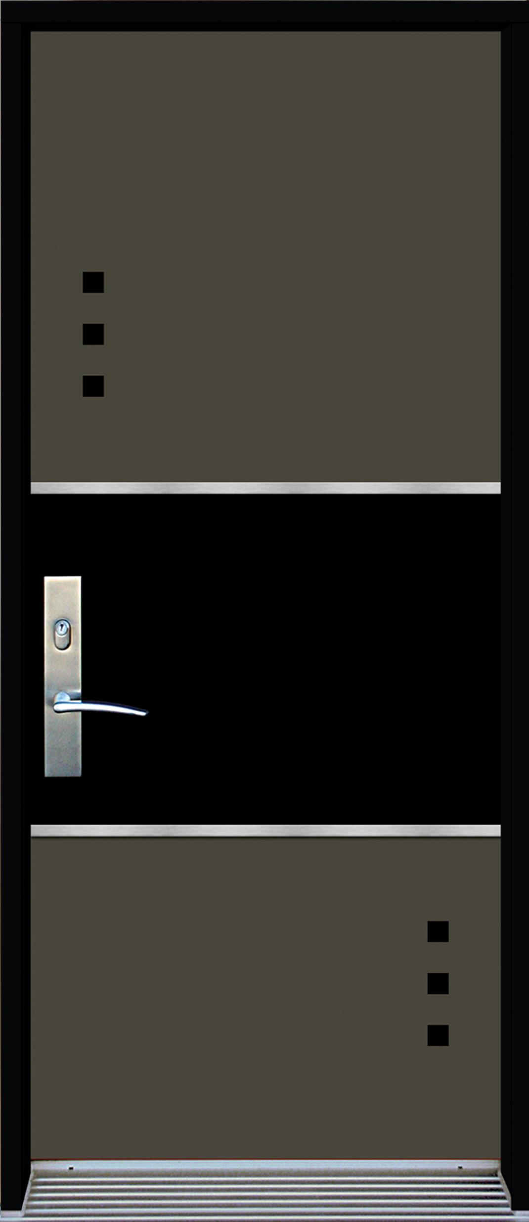 Mod le de porte contemporaine omega2 portatec for Porte zen fuji