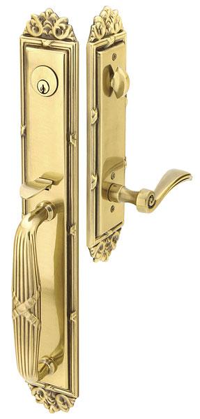 Poign e de porte emtek imperial portatec fabricant de portes sur mesure - Poignee de porte exterieure weiser ...