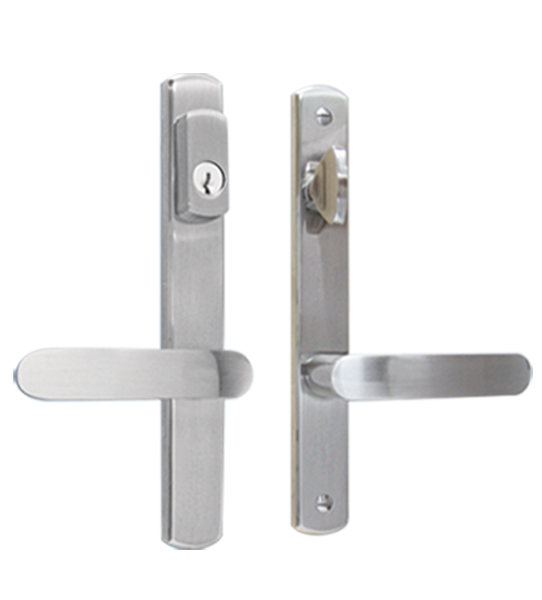 Poign e de porte multi point allegro portatec for Fabricant de porte