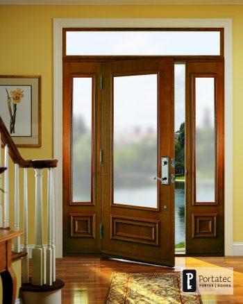 Interior Wood Finish On Door Portatec