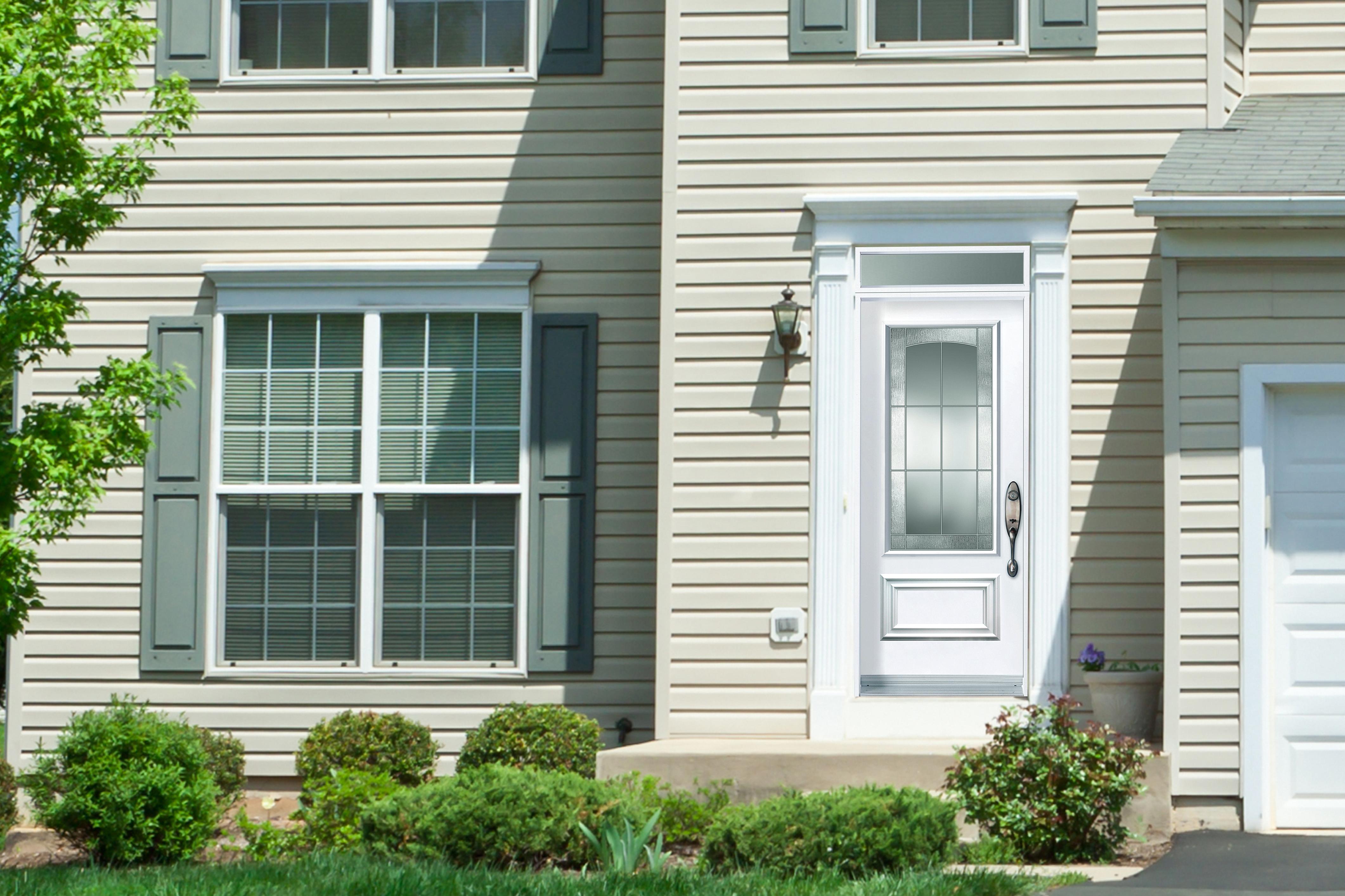 Porte simple imposte rectangle portatec fabricant de - Imposte pour porte d entree ...