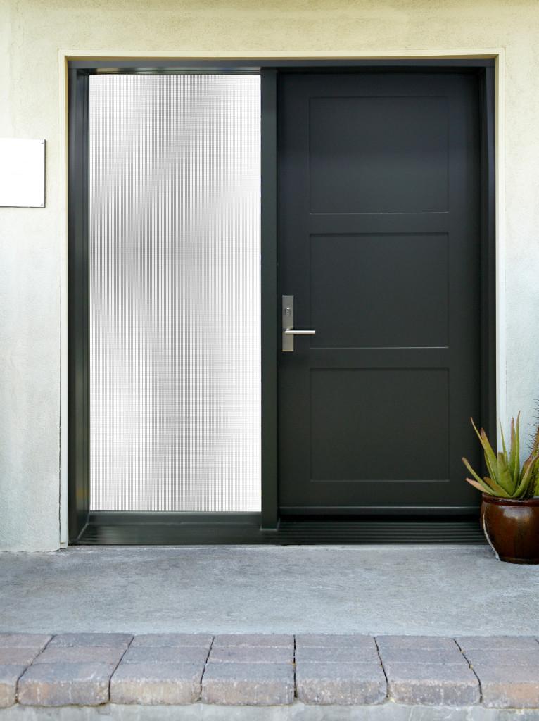 mod le de porte contemporaine delta 2 portatec. Black Bedroom Furniture Sets. Home Design Ideas