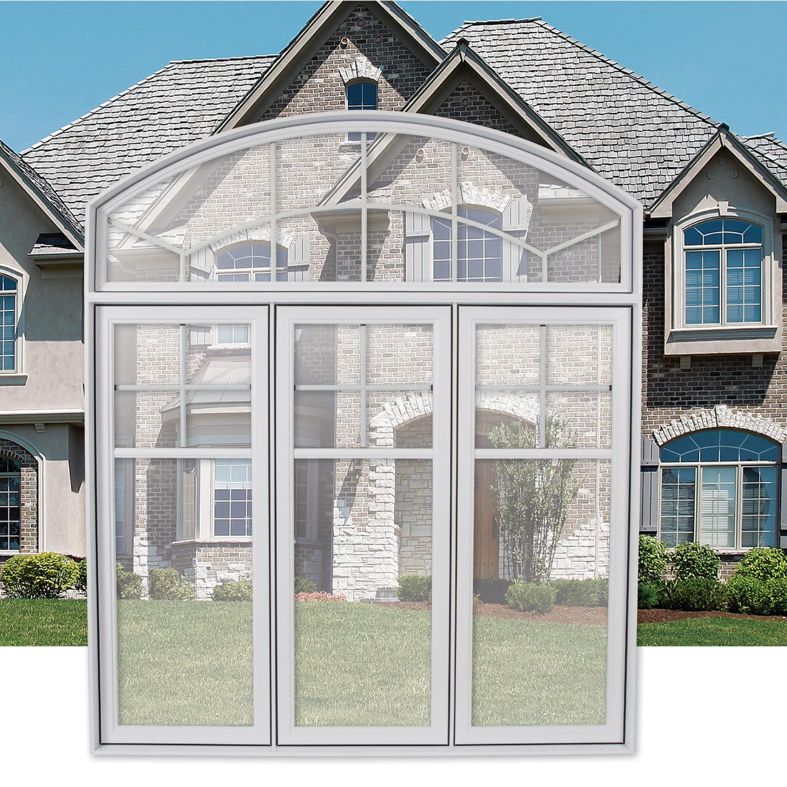 fen tre battant pvc s rie 4000 portatec fabricant de portes sur mesure. Black Bedroom Furniture Sets. Home Design Ideas