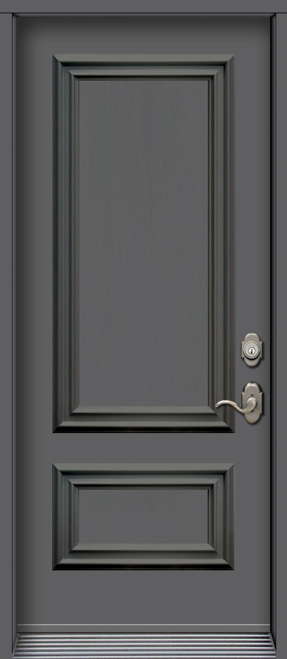 Nb4813 porte pann deco charbon portatec for Deco porte a coller