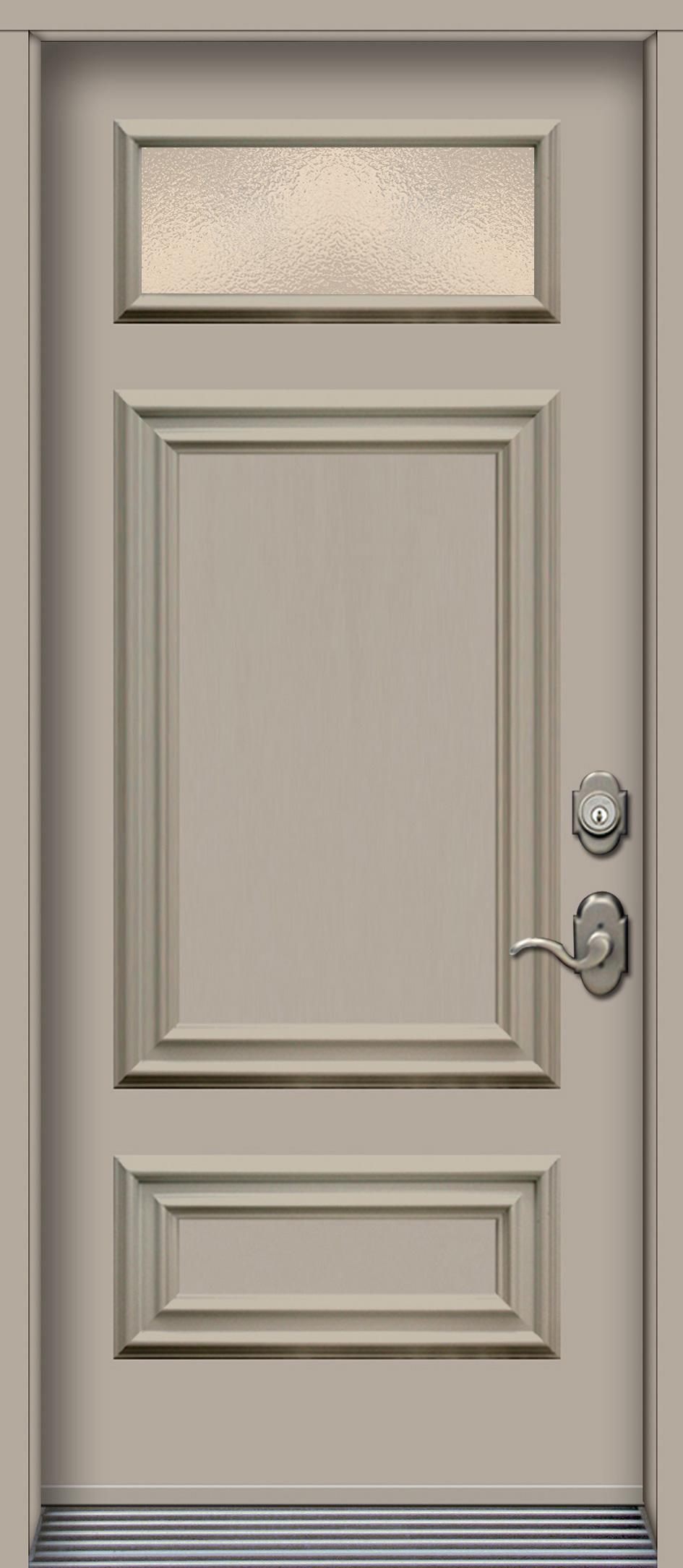 Nbv3710 porte en acier panneaux d coratifs argile for Porte en acier