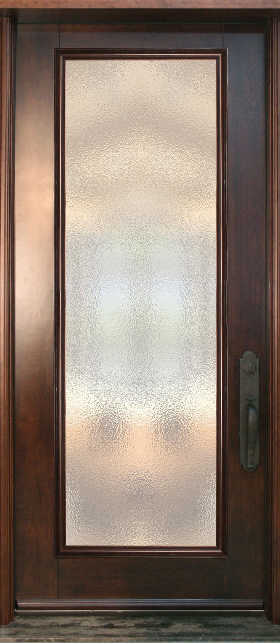 Pa60 porte acier bois unit vitr e cerisier for Fabricant porte et fenetre quebec