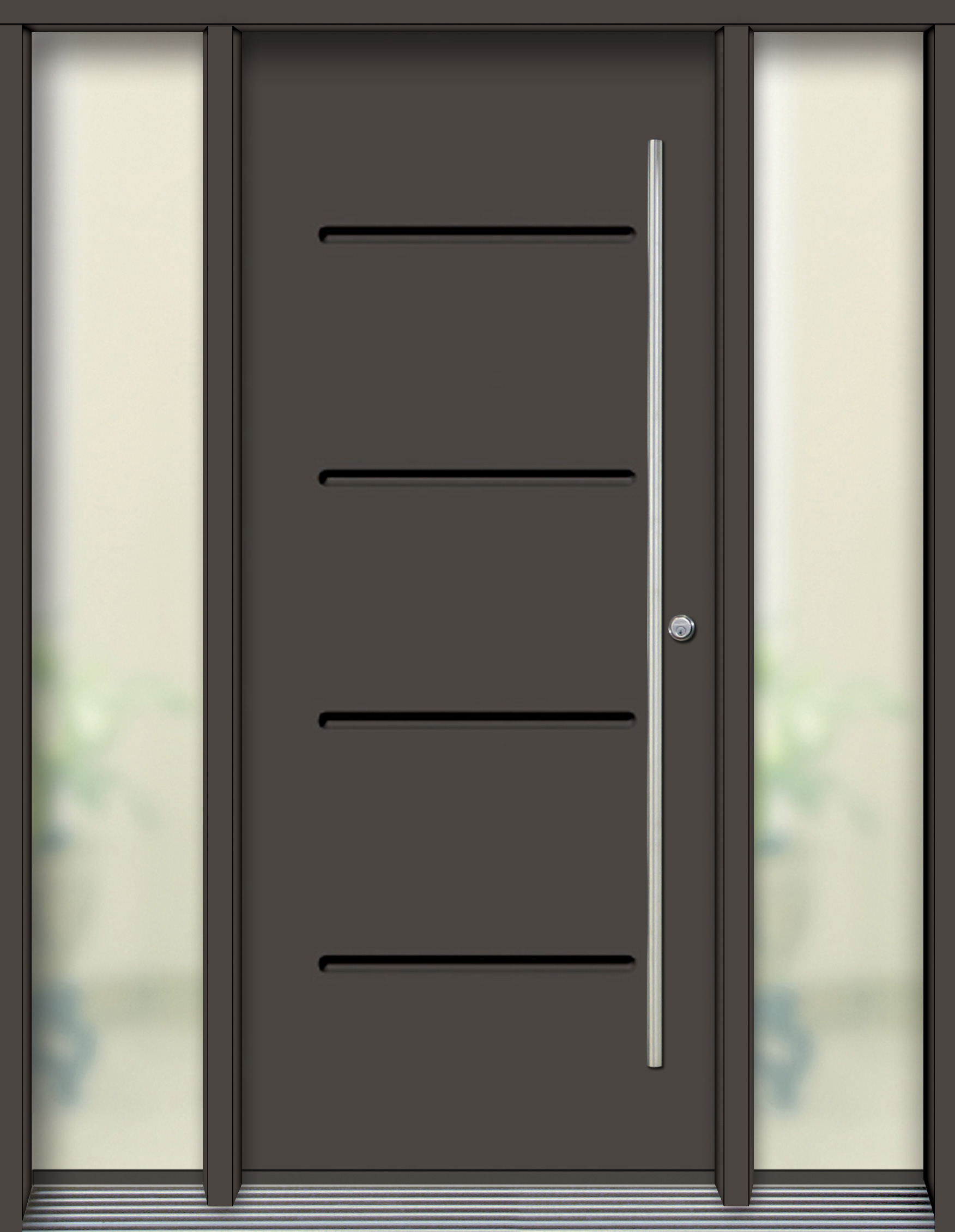 Vog Contemporary Door Urbania 2 Pvl79 Iron Ore ⋆ Portatec