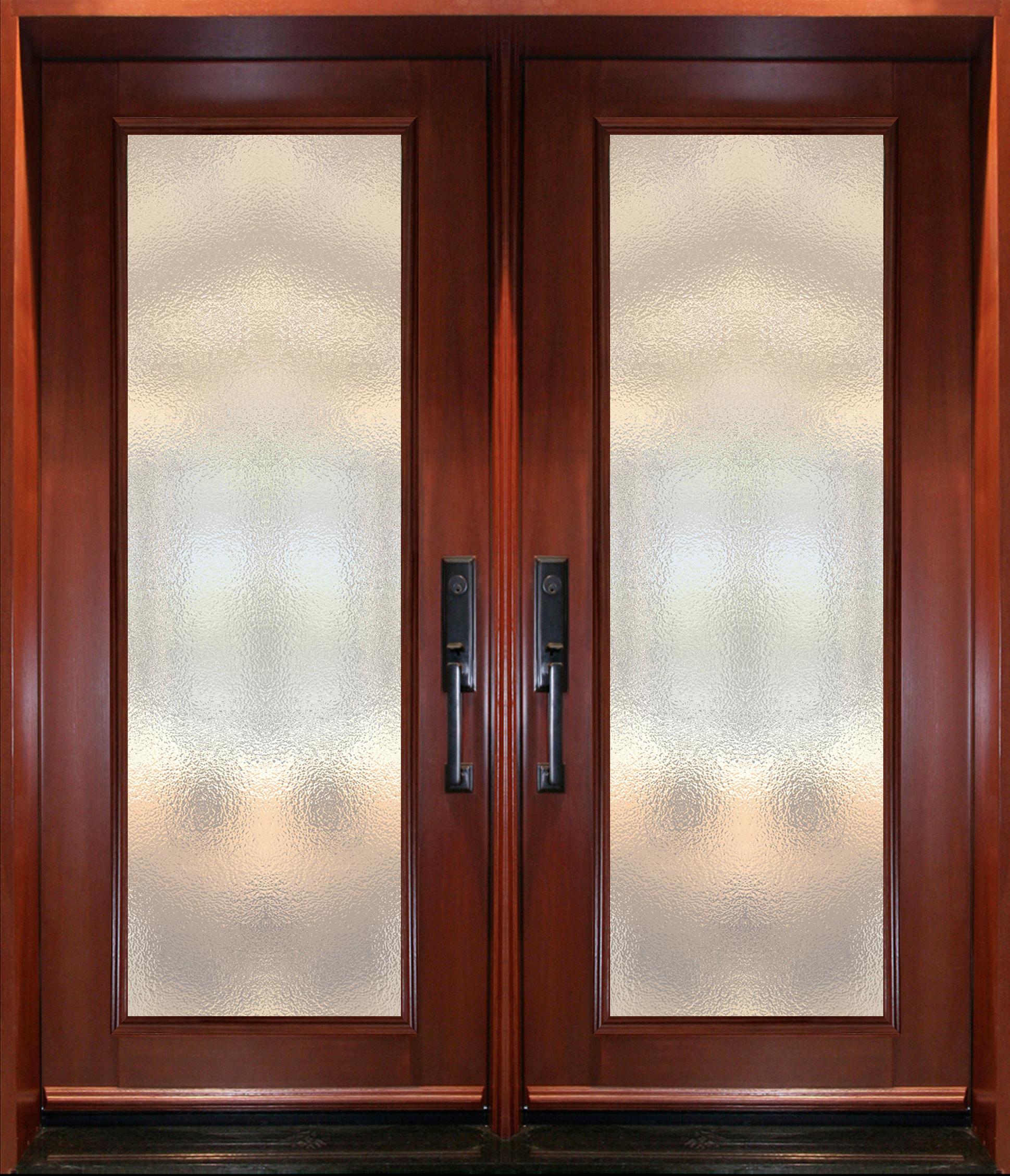 pa60 porte double acier bois cerisier portatec fabricant de portes sur mesure. Black Bedroom Furniture Sets. Home Design Ideas