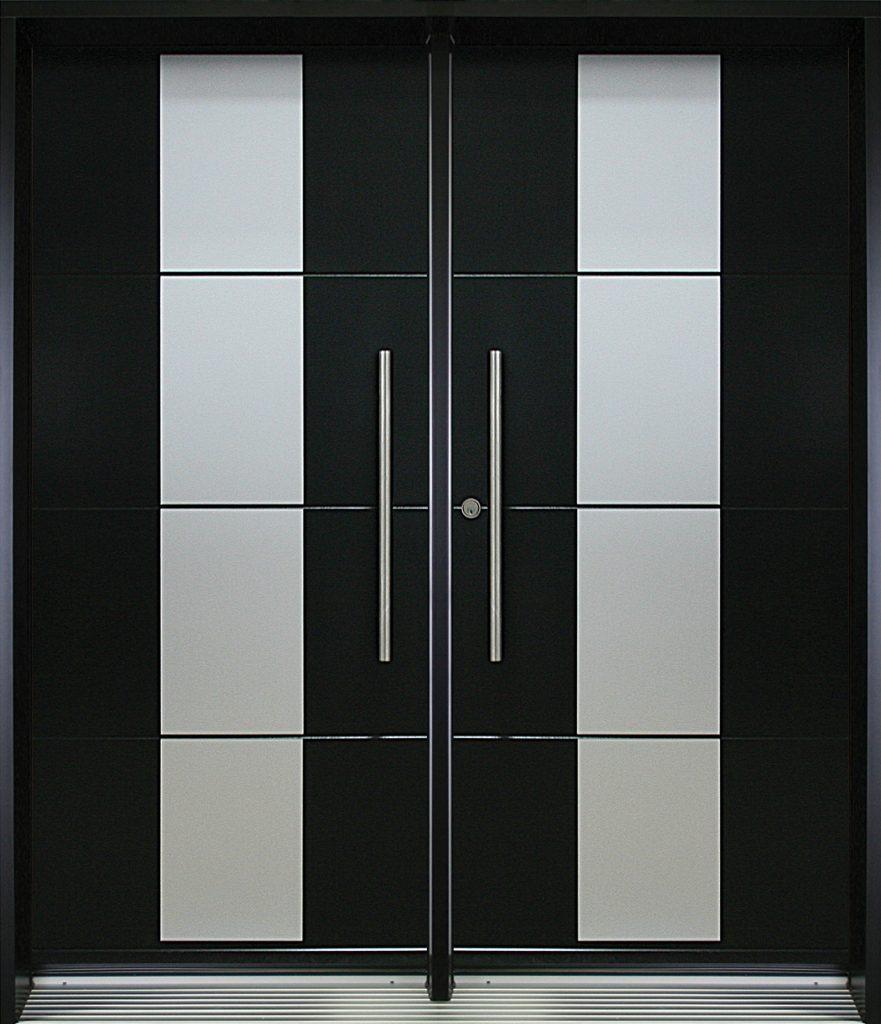 alpha 6 porte contemporaine double urbania teint. Black Bedroom Furniture Sets. Home Design Ideas