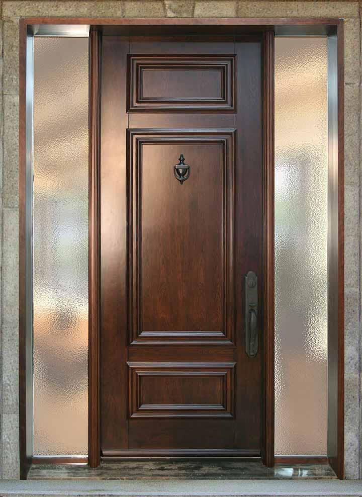 Les forces de la porte d 39 acier et les vertus du bois for Acheter une porte en bois