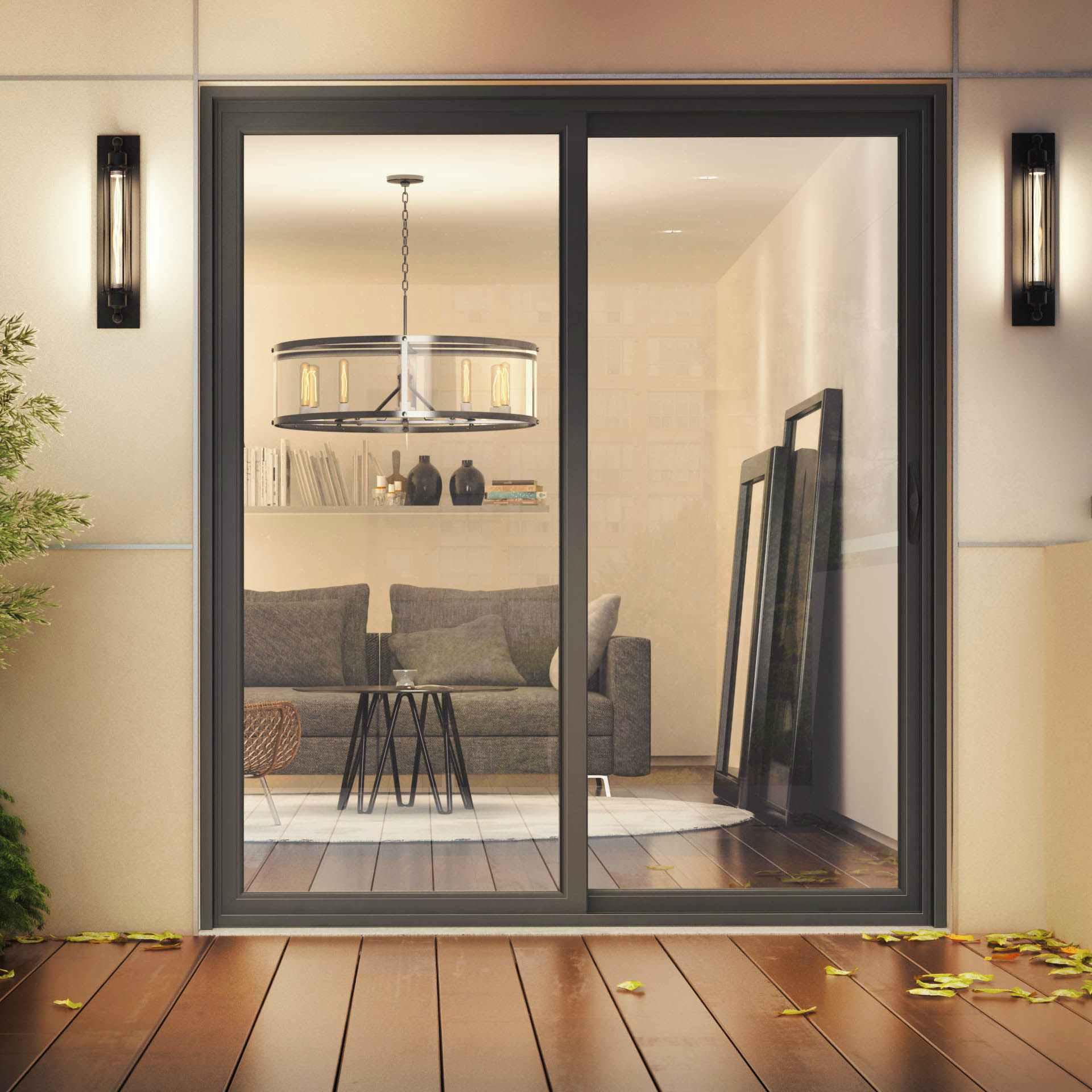 porte patio pvc 550 portatec fabricant de portes sur. Black Bedroom Furniture Sets. Home Design Ideas
