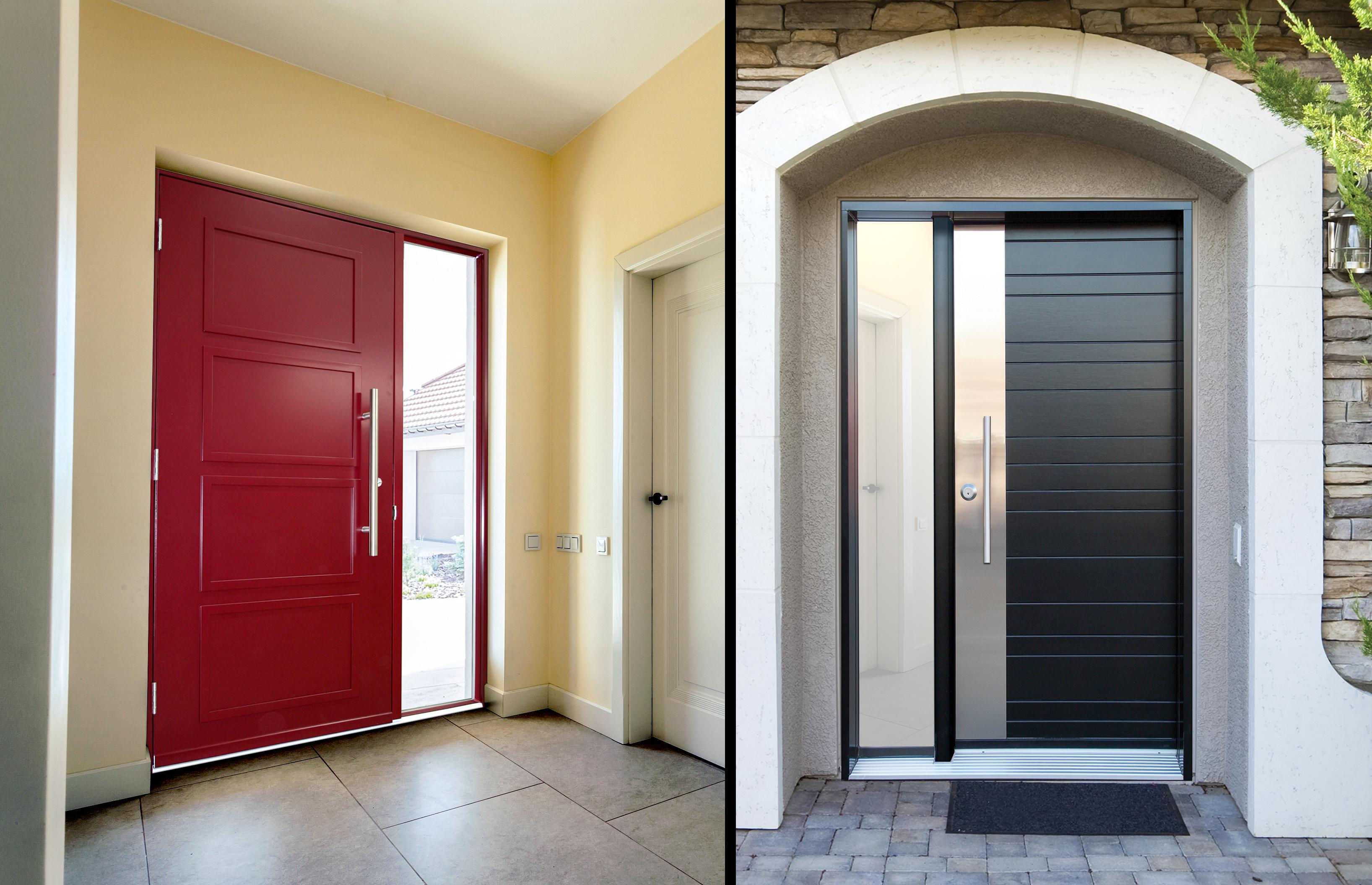 Porte D Entrée En Bois Massif Prix portes ⋆ portatec - fabricant de portes sur mesure