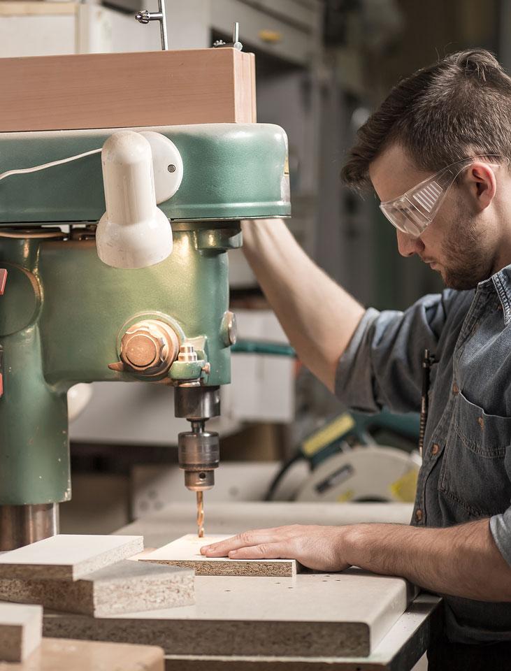 Fabrication spécialisée et professionnelle