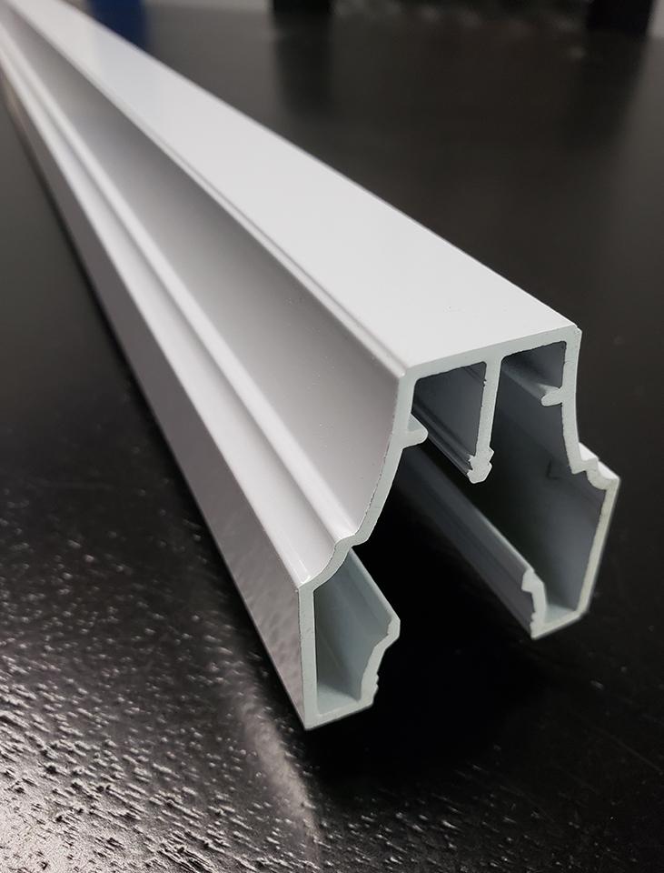 Meneaux et astragales en aluminium